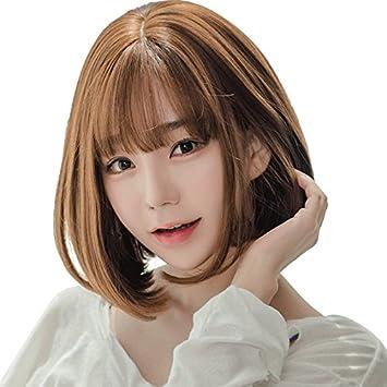 Amazon Com Fluffy Face Women Girls Female Strap Fake Fake