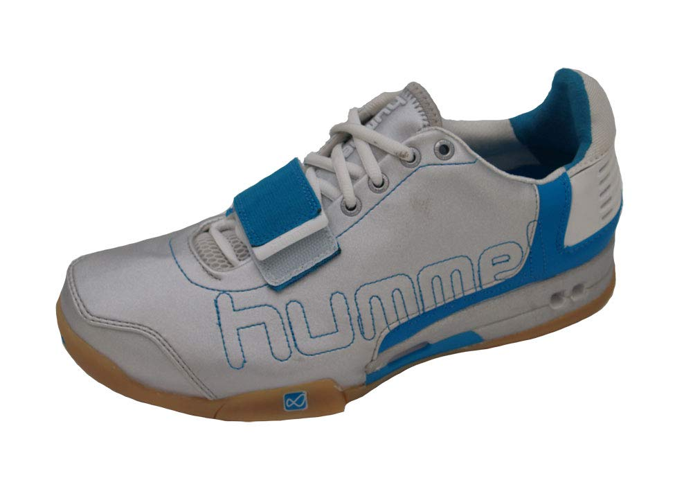 Hummel 7.1 W Silber Turquise Weiß Gr. 40 5(UK7)