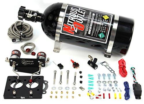 Nitrous Outlet 58mm 93-97 LT1 Plate System (10lb (Lt1 Throttle Body Plate)