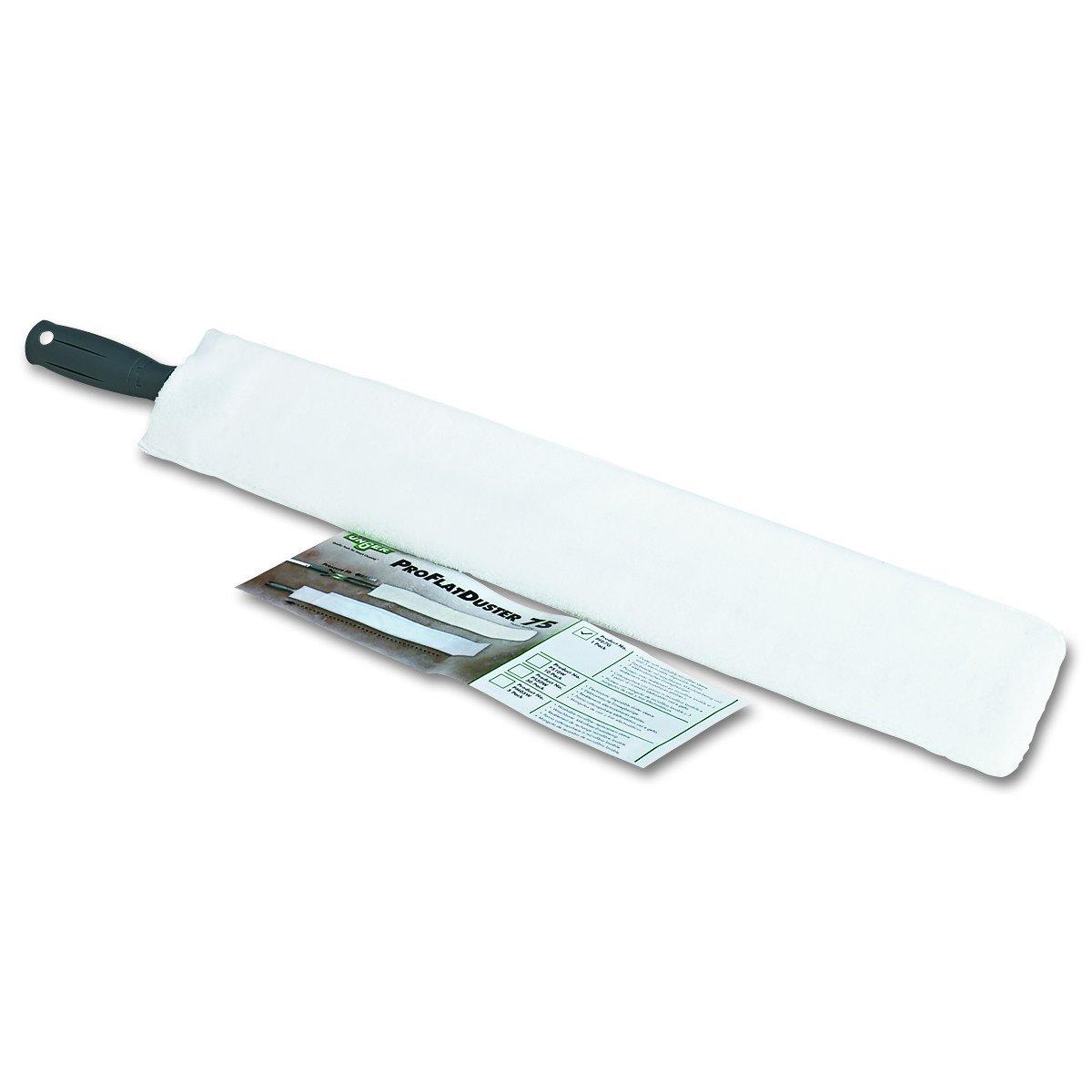 Unger PFD7G Proflat Duster 75, Reusable Microfiber, Washable, 30'' Length