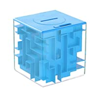 Money puzzle, LightTheBo Money Maze Puzzle Box For Kids and Adults- Unique Way To Give Gifts For Special People(Blue)