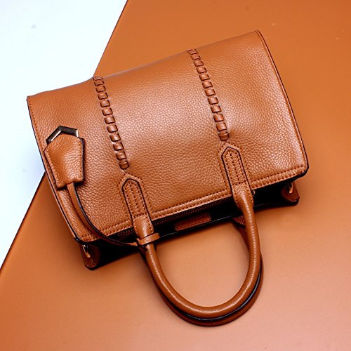 Capa Las Vaca Bag M Primera Cuero Brown Fashion De Beck color Bolso Black Size Moda Orlando Señoras tYwBPfpq