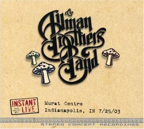 Instant Live: Murat Centre Indianapolis in 7/25/03 by Instant Live Rec.