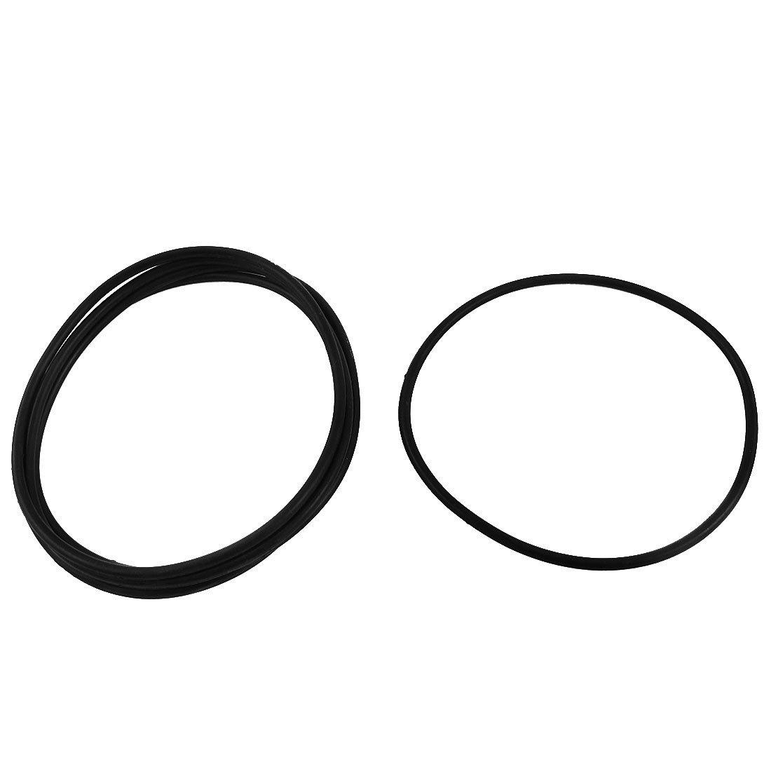 5 piezas de reemplazo de goma JUNTA DE SELLADO O Anillo de cierre 105x98x3.5mm DealMux DLM-B00XP53YN2