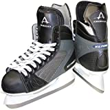 American Athletic Shoe Boy's Ice Force Hockey Skates, Black, 3
