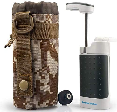 Multifunction Water Filter Portable Ceramic Emergency Survival Outdoor Camping