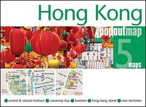 Hong Kong Popout Map - handy pocket size pop up map of Hong Kong (Popout Maps) by PopOut Maps (2014-07-25)