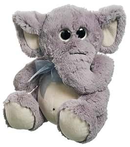 Heunec 440470 Big Eyes - Elefante de peluche, 25 cm [Importado de Alemania]
