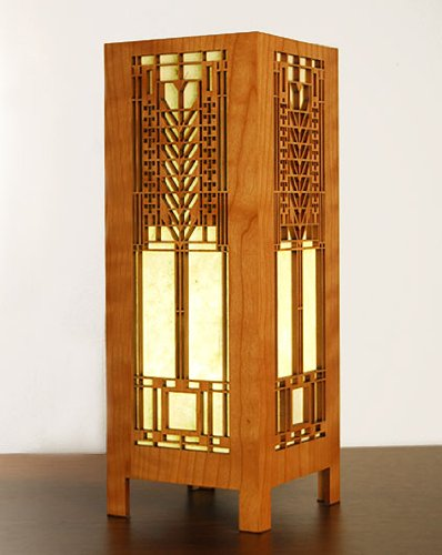 Frank Lloyd Wright Tree of Life Lightbox Accent Lamp