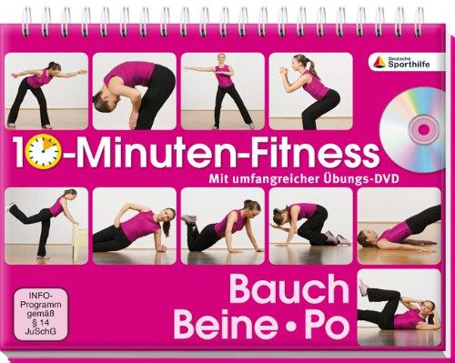 10 Minuten Fitness Bauch Beine Po Mit Umfangreicher übungs Dvd