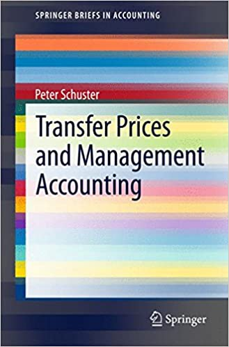 Transfer Prices and Management Accounting (SpringerBriefs in Accounting)