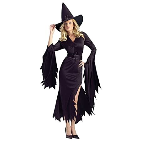 BWNWPH Disfraz De Halloween Cosplay Disfraz Negro Irregular Monja ...