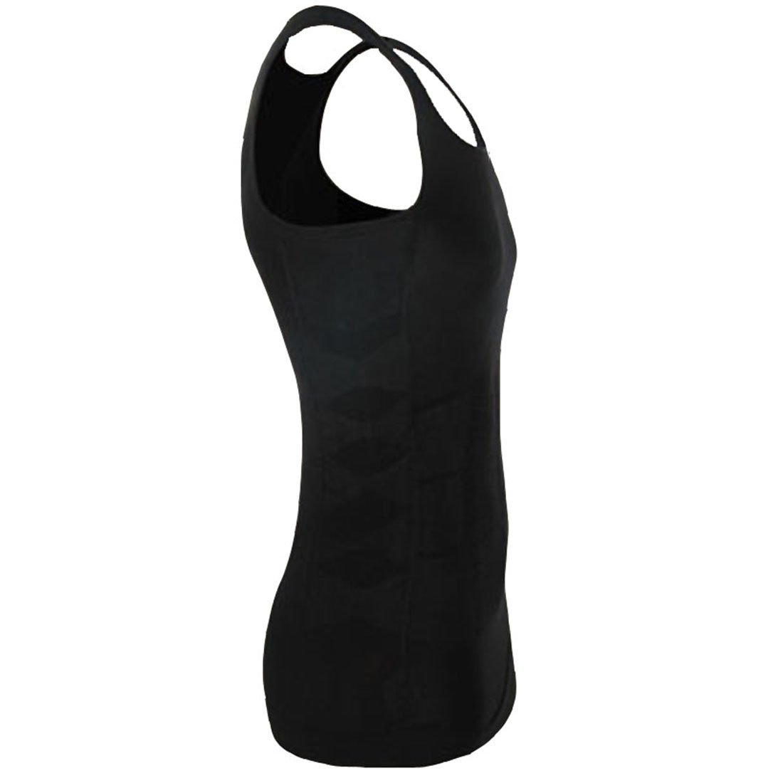 ZEROBODYS Mens Body Shaper Slimming Shirt Elastic Sculpting Vest Tank SS-M01