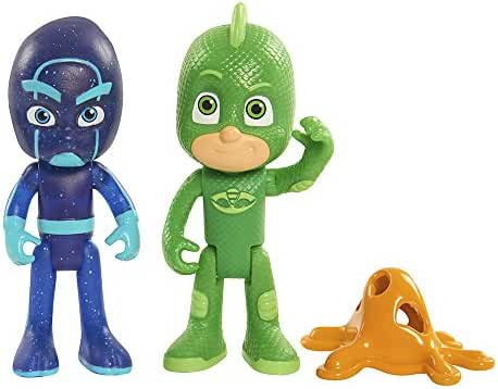 Just Play PJ Masks Figure Pack Set Gecko / Night Ninja Toy