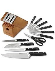 Calphalon Classic Self-Sharpening Cutlery Knife Block Set with SharpIN Technology, 12 Piece