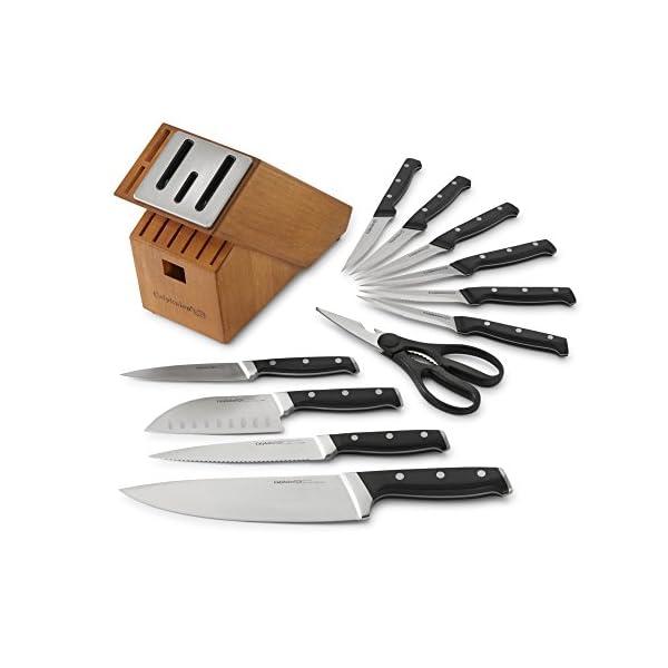 Calphalon Classic Self-Sharpening Cutlery Knife Block Set with SharpIN Technology 51DEgSQ7e L