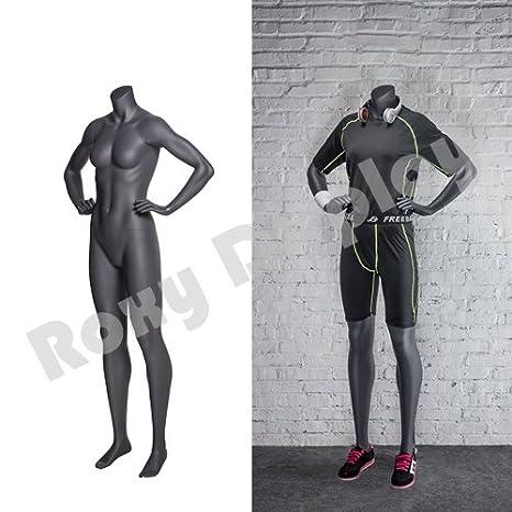 Runner Pose. MZ-NI-11 Athletic Style ROXYDISPLAY/™ Eye Catching Female Headless Mannequin
