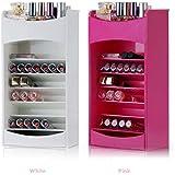 Sunam'S Women Multilayer Plastic Cosmetic Makeup Organizer//Jewelry Organizer//Storage Display Stand Case//Rack Holder Boxes