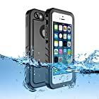 Sincetop Compatible iPhone SE Waterproof Case/iPhone 5S Case Waterproof - Underwater Full Sealed