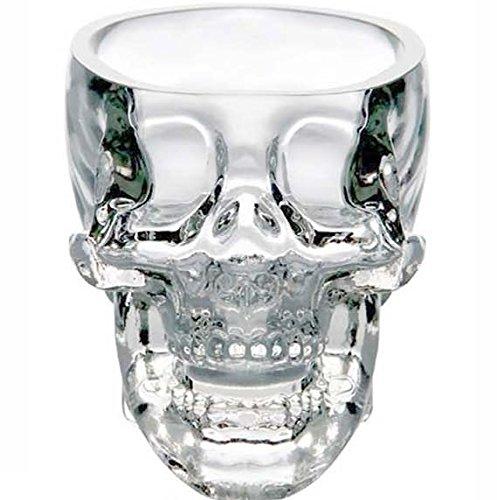 New Crystal Skull Head Vodka Whiskey Shot Glass Cup Drinking Ware Home Bar Cup Mug