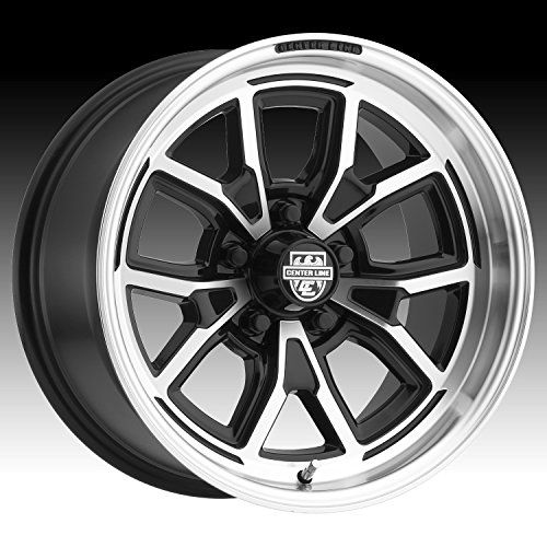 Centerline 633MB MM4 17X8 Mirror Machined Face with Gloss Black Accents Forged Wheels 5X4.75 Bolt Pattern