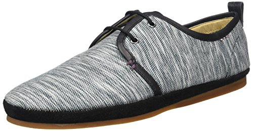 Ben Sherman taur 2 Eyelet Derby Herren Derby Grau (Black/Grey)