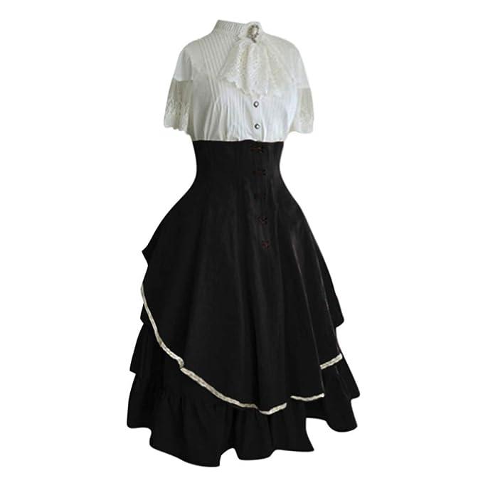 Amazon.com: Forthery-Women Renaissance vestido Renaissance ...