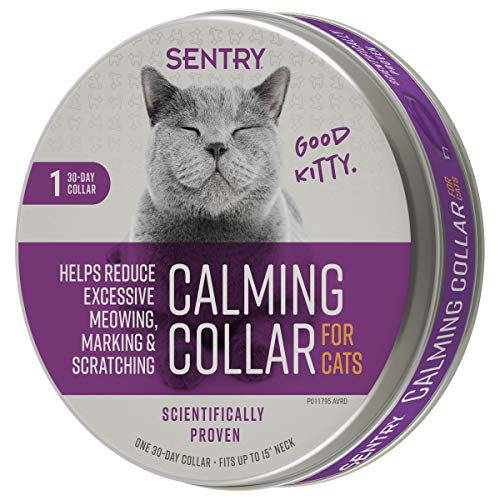 Sentry Calming Collar for Cats 1Ct