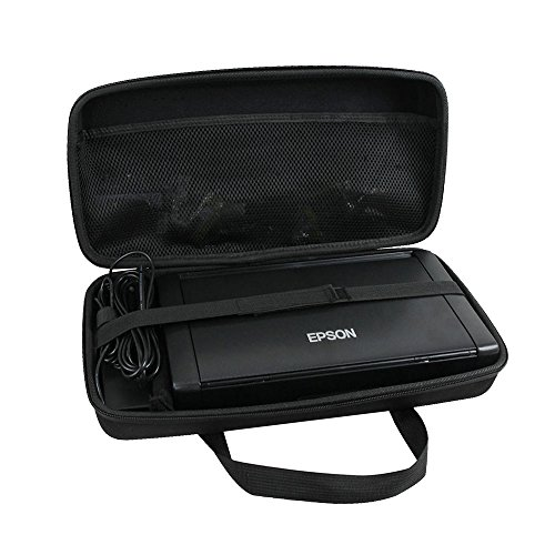 Hermitshell Hard EVA Travel Case Fits Epson Workforce WF-100 Wireless Mobile Printer