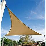12u0027 x 12u0027 x 12u0027 triangle sand color sun shade sail uv block for outdoor facility and activities