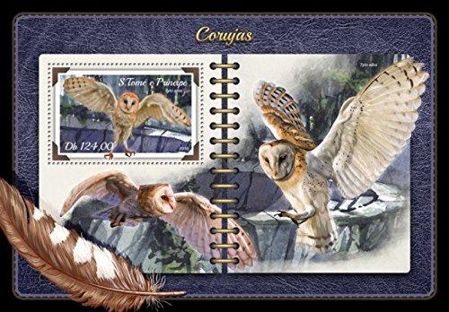 Owl Thomas (USPS St Thomas - 2018 Owls on Stamps - Stamp Souvenir Sheet - ST18206b)