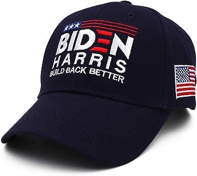 Joe Biden Kamala Harris 2020 Embroidered Dad Hat Adult Unisex One-Size Navy Cap