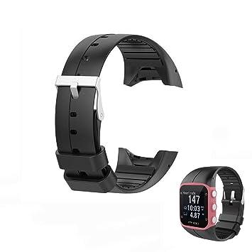 Hensych Reemplazo Banda Correa de muñeca deporte reloj de pulsera para polar M400 M430 GPS reloj