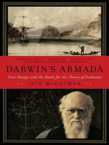 Darwin's Armada: Four Voyages and the Battle for the Theory of Evolution cover