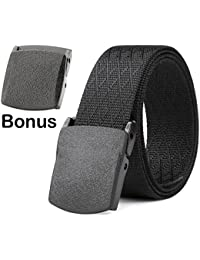 bc4e526f74f7 Nylon Canvas Breathable Military Tactical Men Waist Belt With Plastic Buckle
