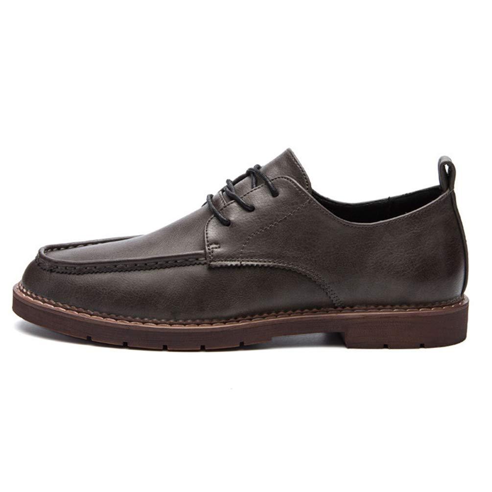Männer Casual Schuhes Outdoor handgefertigte atmungsaktive Leder Hand Nähen handgefertigte Outdoor Moccasins Oxford Flats Sneakers Khaki 77ce4c