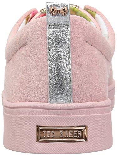 Ted Baker Kvinders Kellei Sneaker Mink Pink Ruskind xKzphzC