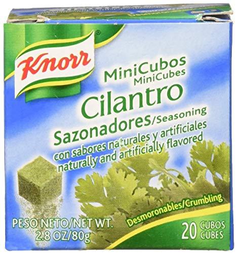 - Knorr MiniCubes Cilantro Seasoning, 2.8-Ounce