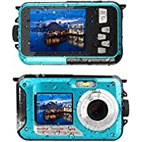 Waterproof Digital Camera Underwater Camera 24 MP Video...