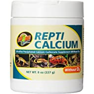 Zoo Med Reptile Calcium without Vitamin D3, 8-Ounce