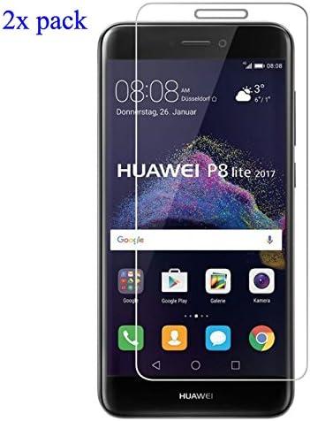EJBOTH 2X Huawei P8 Lite 2017 Protectores de Pantalla Vidrio ...
