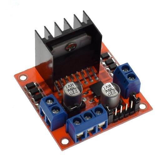 L298N motor driver board module L298 for arduino stepper motor smart car robot 10pcs by Swiftflying (Image #6)