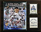 NFL New York Giants Super Bowl XLVI Limited Edition 12 x 15 Champions Plaque