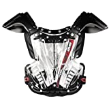 EVS Vex Youth Chest Protector Black/Black Under 75 lbs.