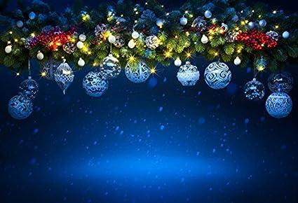 Merry Christmas Background.Amazon Com Leowefowa Vinyl 5x3ft Merry Christmas Backdrop