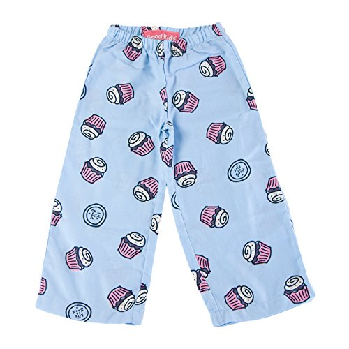 Good Kids by Life is Good Toddler Girl's Flannel Sweetie Lounge Pants 4T (XS) ICY (Pants Good Lounge Is Life)