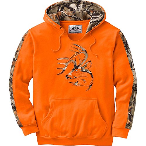 Legendary Whitetails Mens Camo Outfitter Hoodie, Inferno, Large