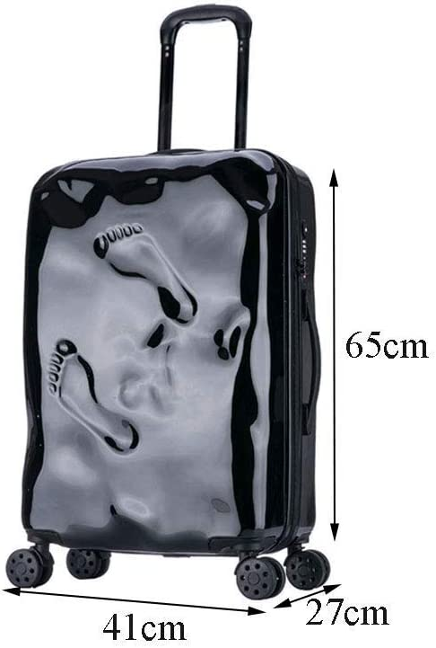Jolly Super Lightweight ABS Hard Shell Travel Carry On Cabin Hand Luggage Suitcase with 4 Wheels Size : 352355cm
