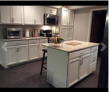 a T 15 Maniglie a barra per Armadio da cucina in acciaio INOX viti incluse cave