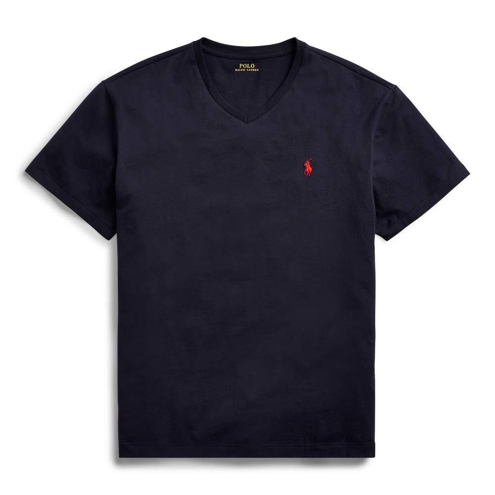 Polo Ralph Lauren Mens Classic Fit V-Neck T-Shirt